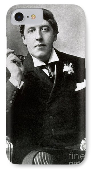Oscar Wilde, Irish Author Phone Case by Photo Researchers