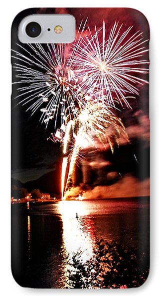 Osoyoos Lake On Fire Phone Case by Don Mann