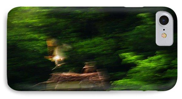 Osprey Motion Phone Case by Rrrose Pix