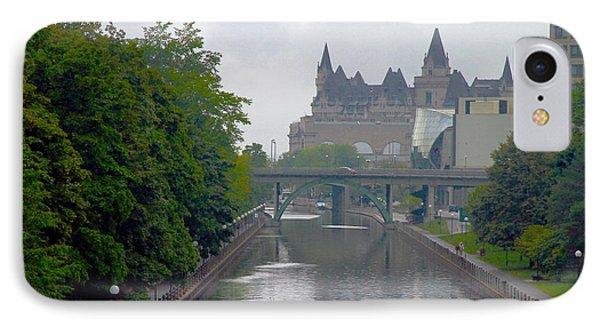 Ottawa Rideau Canal IPhone Case by Valentino Visentini