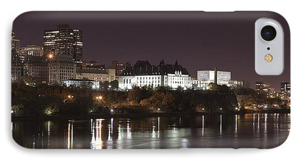IPhone Case featuring the photograph Ottawa Skyline by Eunice Gibb