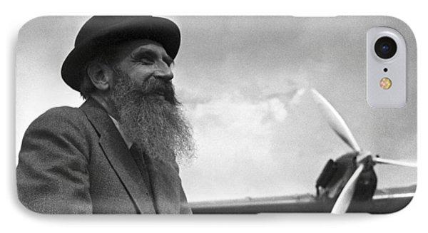Otto Schmidt, Soviet Arctic Explorer Phone Case by Ria Novosti