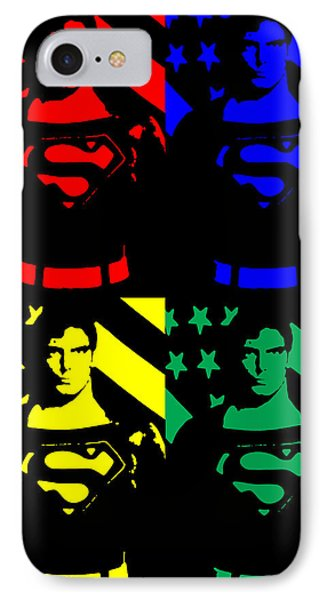 Our Man Of Steel IPhone Case by Saad Hasnain
