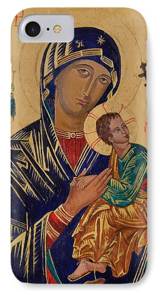 Our Mother Of Perpetual Help Phone Case by Camelia Apostol