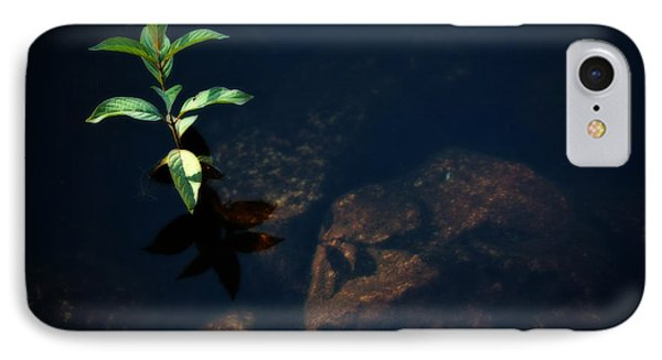 Out Of The Water Comes Shadows Phone Case by Karol Livote