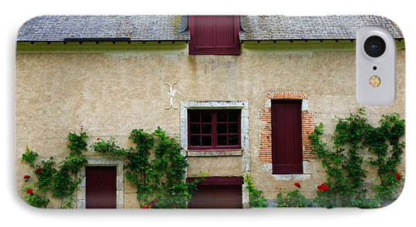Outbuildings Of Chateau Cheverny Phone Case by Louise Heusinkveld