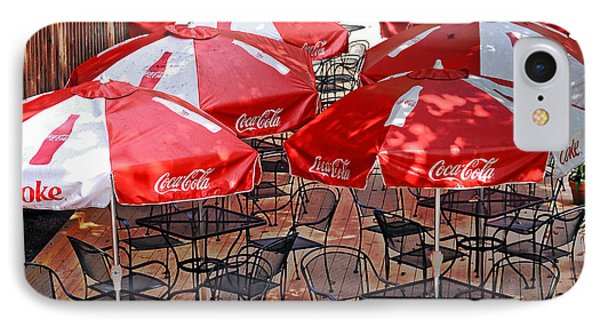 Outdoor Dining Phone Case by Susan Leggett