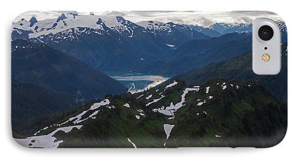 Over Alaska Phone Case by Mike Reid