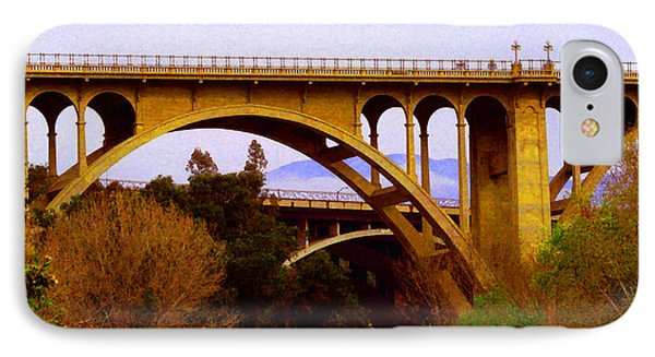 Over The Arroyo IPhone Case by Timothy Bulone