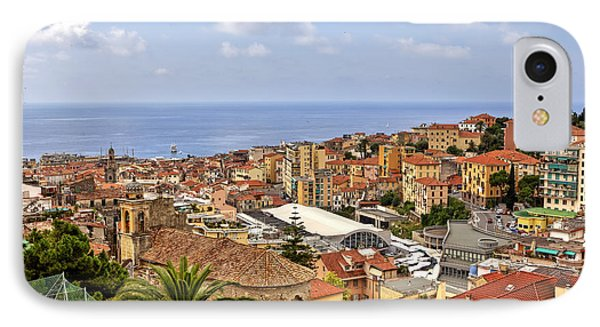 Over The Roofs Of Sanremo IPhone Case