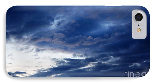 Overcast Sky In The Morning Phone Case by Gabriela Insuratelu
