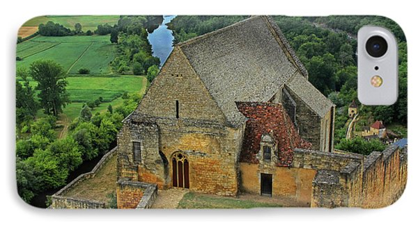 Overlooking The French Countryside Phone Case by Dave Mills