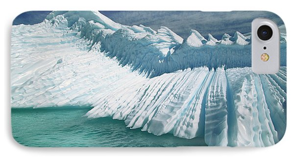 Overturned Iceberg With Eroded Edges Phone Case by Colin Monteath