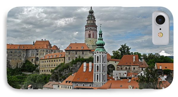 IPhone Case featuring the photograph Overview Of Cesky Krumlov by Kirsten Giving