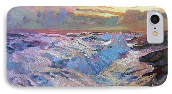 Pacific Ocean Blue Phone Case by David Lloyd Glover