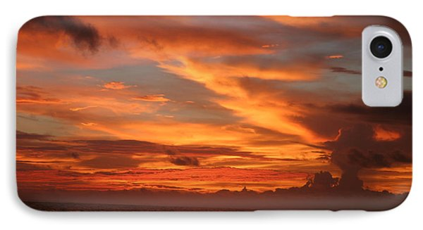 Pacific Sunset Costa Rica Phone Case by Michelle Wiarda