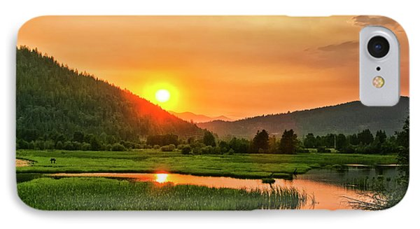 Pack River Delta Sunset IPhone Case by Albert Seger