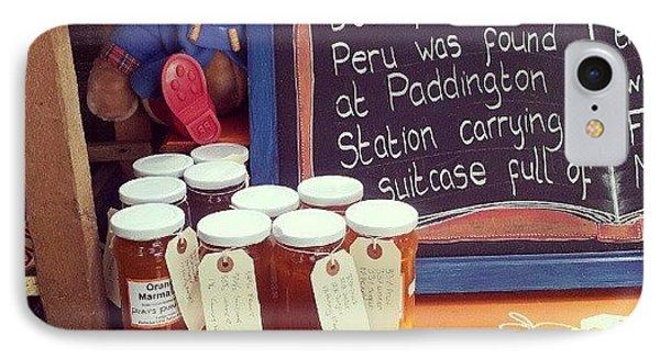 Paddington And Marmalade IPhone Case by Natasha Futcher