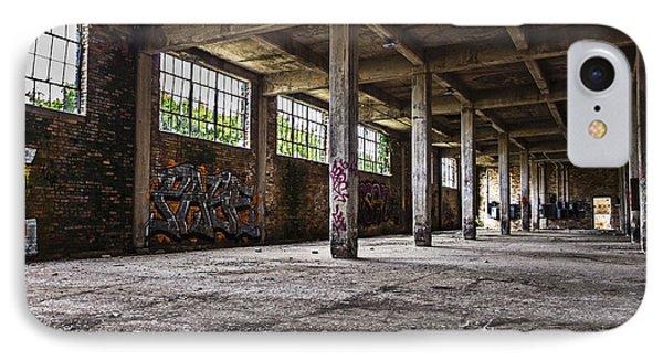 Paint And Concrete IPhone Case by CJ Schmit