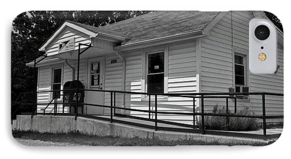 Paint Bank Post Office Va IPhone Case by Betsy Knapp
