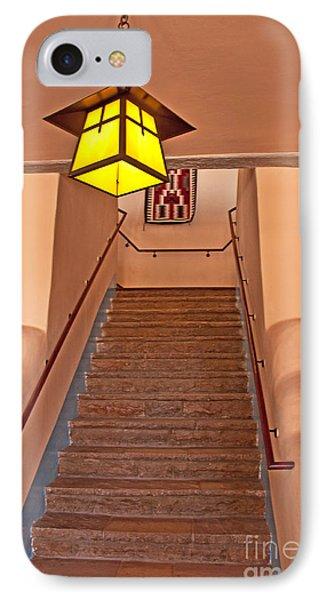 Painted Desert Inn Interior Phone Case by Bob and Nancy Kendrick