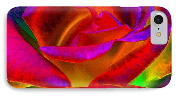 Painted Rose 1 Phone Case by Will Borden