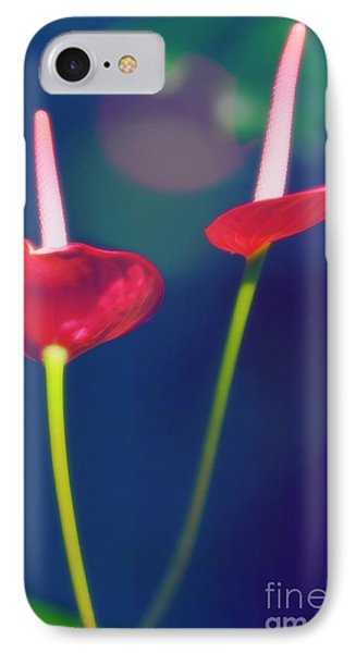 Painter's Palette (anthurium Andraeanum) Phone Case by Maria Mosolova