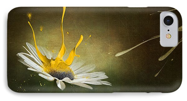 Painting Daisy IPhone Case by Svetlana Sewell