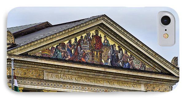 Palace Of Art - Heros Square - Budapest Phone Case by Jon Berghoff