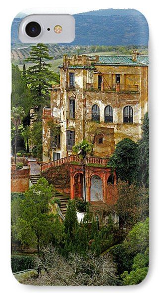 Palace Of The Arabian King - Ronda IPhone Case by Juergen Weiss