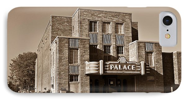Palace Theater Crossville 4 IPhone Case by Douglas Barnett