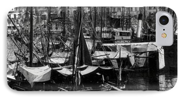 Palermo Sicily - Shipping Scene At The Harbor Phone Case by International  Images