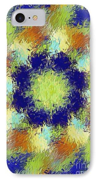 Pallet Of Colors Phone Case by Deborah Benoit