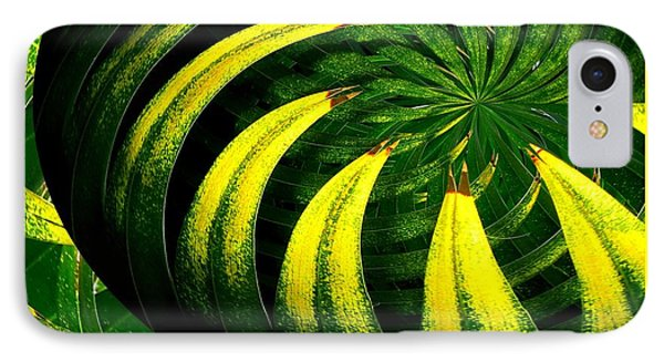 Palm Tree Abstract Phone Case by Rose Santuci-Sofranko