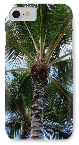 Palm Tree Umbrella IPhone Case by Athena Mckinzie