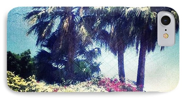 #palms #trees #beach #webstagram Phone Case by Andrea Bigiarini