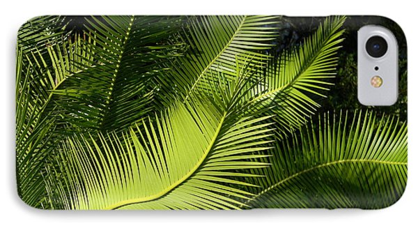 IPhone Case featuring the photograph Palms Waving At The Sun by Jodi Terracina