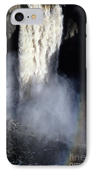 IPhone Case featuring the photograph Palouse Falls by Sharon Elliott