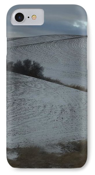 Palouse Winter 1 Phone Case by Mary McInnis