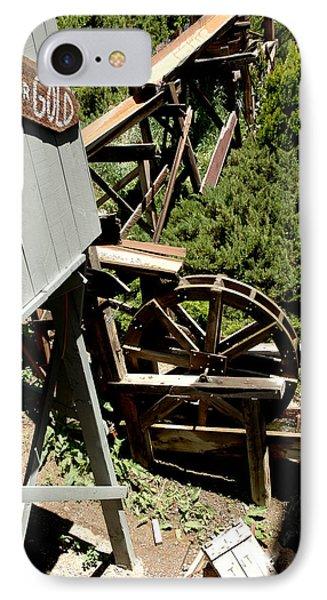 Panning For Gold In Virginia City Nevada Phone Case by LeeAnn McLaneGoetz McLaneGoetzStudioLLCcom