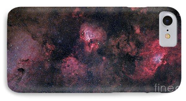 Panorama Near The Sagittarius Region IPhone Case by John Davis