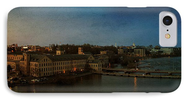 Panoramic Appleton Skyline IPhone Case by Joel Witmeyer