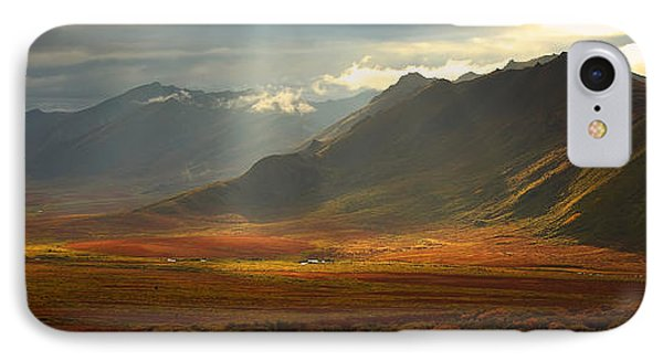 Panoramic Image Of The Cloudy Range Phone Case by Robert Postma