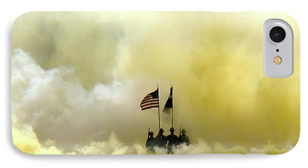 Panoramic Us Army Graduation IPhone Case by Michael Waters