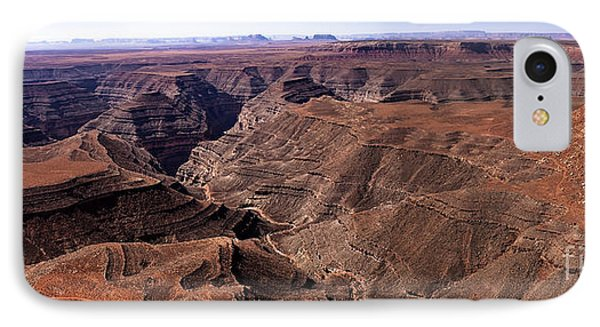 Panormaic View Of Canyonland Phone Case by Robert Bales