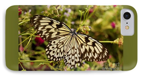 IPhone Case featuring the photograph Paper Kite Butterfly by Eva Kaufman