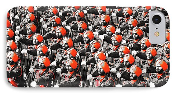 Parade March Indian Army Phone Case by Sumit Mehndiratta