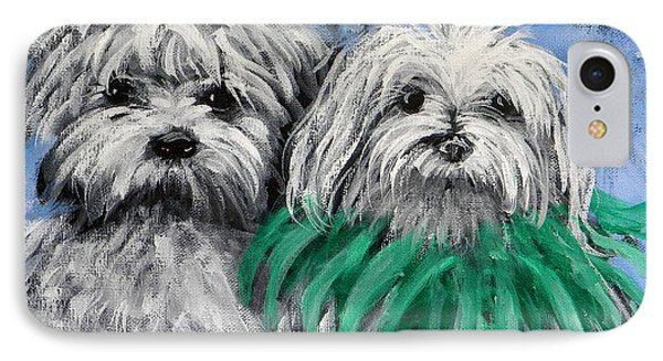 Parade Pups IPhone Case by Jeanette Jarmon