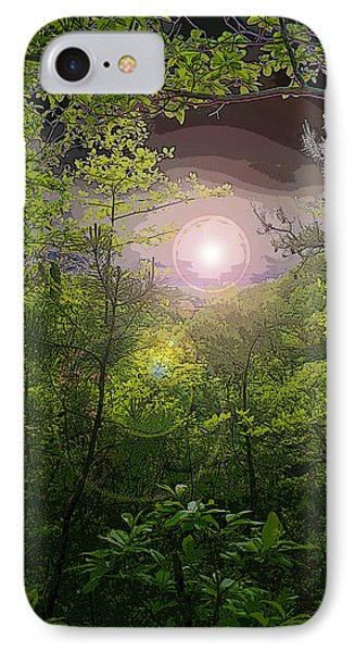 Paradise At Dawn Phone Case by Nina Fosdick