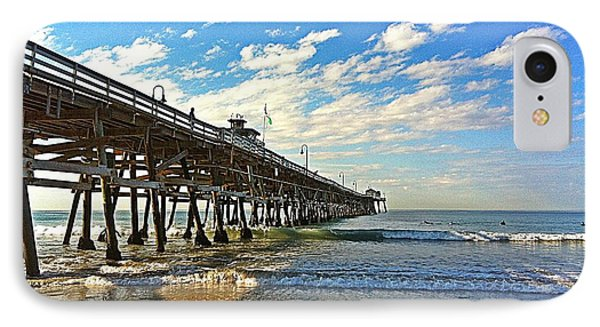 Paradise At The Pier Phone Case by Traci Lehman